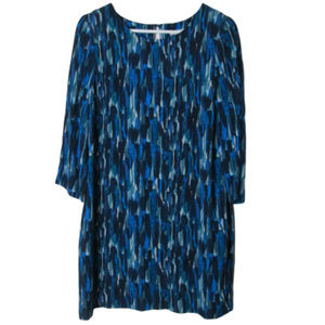 Boden Beaufort blue Watercolor Shift Dress